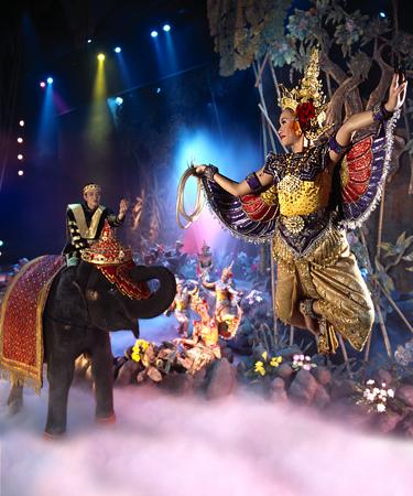 泰國布吉島幻多奇Phuket FantaSea表演門票,布吉島表演門票,布吉島旅遊景點