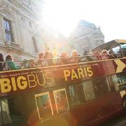 巴黎Big Bus隨上隨下雙層觀光巴士