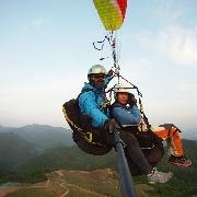韓國楊平Paralove滑翔傘