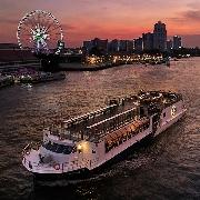 【高級遊船】曼谷悅榕莊Saffron番紅花號夜遊湄南河晚宴