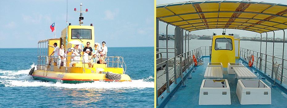墾丁後壁湖半潛艇門票,後壁湖半潛艇,觀光半潛艇