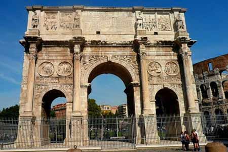 羅馬梵蒂岡—斗獸場—君士坦丁凱旋門